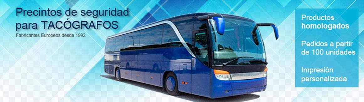 Autobus precintos tacografos